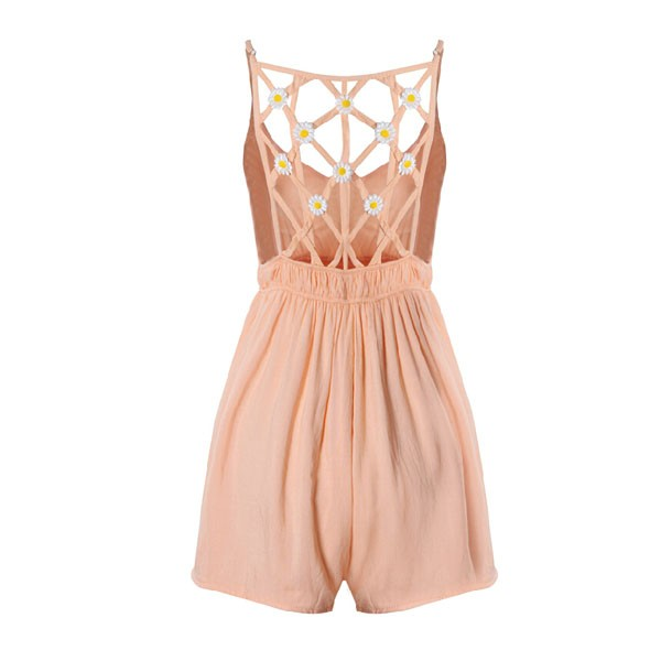 feclothing                  - cute little hollow minimalist jumpsuit