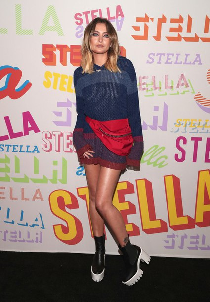 sweater paris jackson hooded sweater stella mccartney knitted sweater shoes boots