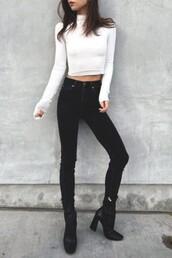top,white,zaful,black and white,streetwear,lookbook,urban,casual