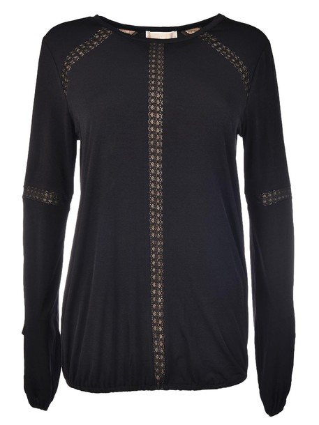 Michael Kors top knitted top black