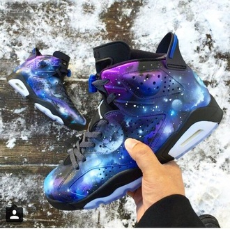 shoes galaxy hat