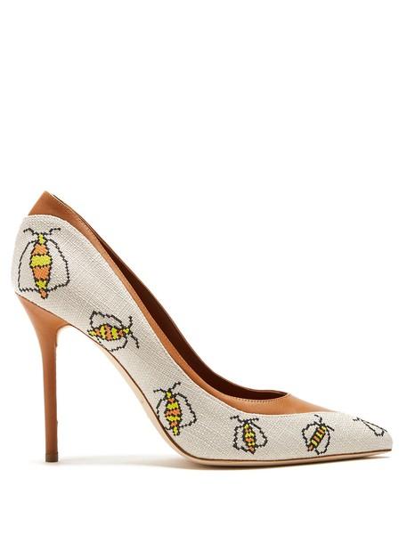 MALONE SOULIERS pumps tan shoes