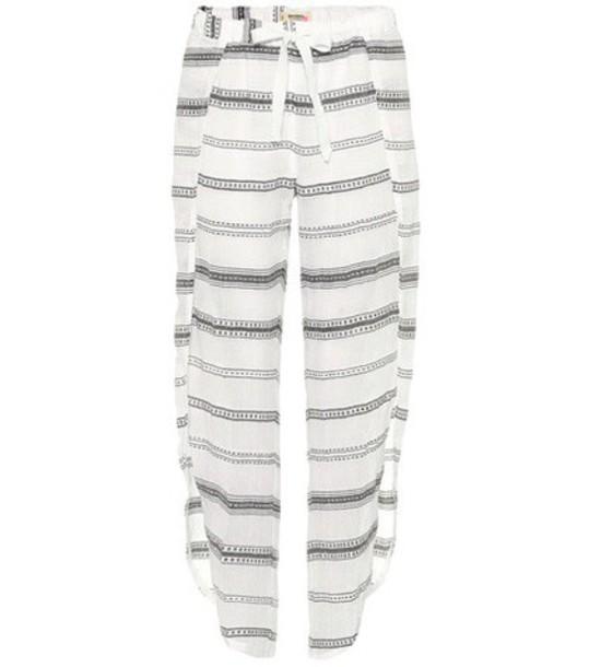 LemLem cotton white pants