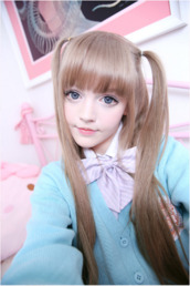 cardigan,dakota rose,kotakoti,ulzzang,kawaii,kawaii outfit,japanese fashion,school girl,school uniform,girly,blue,pastel blue,pastel,sweater