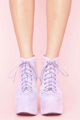 shoes lilac lita platform boot lita platform lita jeffrey campbell