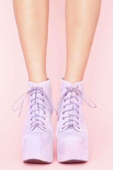 shoes lita jeffrey campbell lita platform boot lita platform lilac