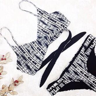 swimwear lspace print navajo bikini summer