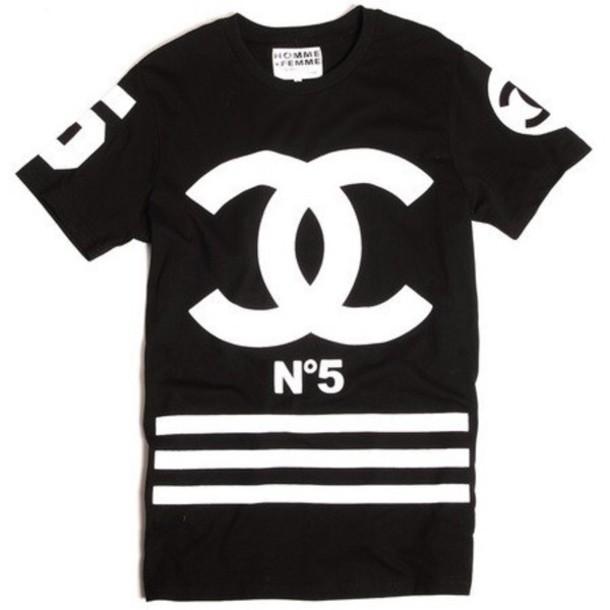 bf1988fe439 chanel t-shirt chanel t-shirt shirt chanel