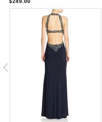 dress open back