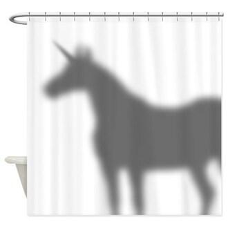 home accessory shower curtain unicorn bathroom