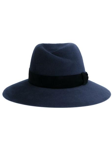 hat fedora grey charcoal