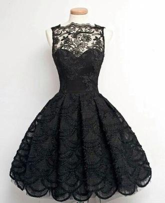dress little black dress lace dress sexy dress style prom dress
