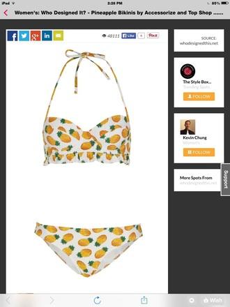 swimwear pineapple swimsuit