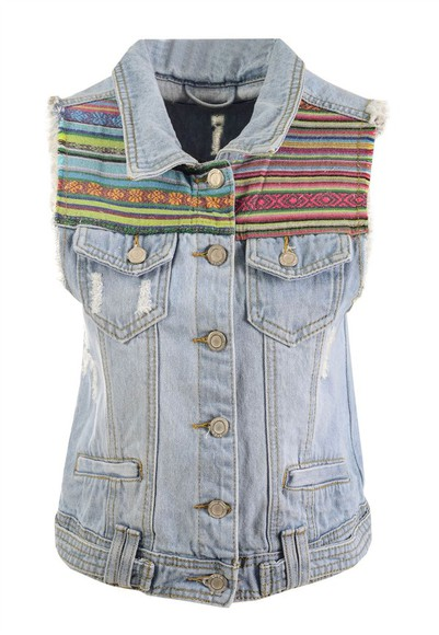 jacket denim denim jacket denim vest tribal pattern tribal design light wash light jeans light jean light denim light wash denim light wash jeans light wash vest