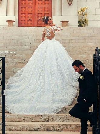 dress wedding dress white dress princess wedding dresses