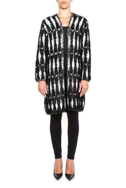 lanvin coat knit black
