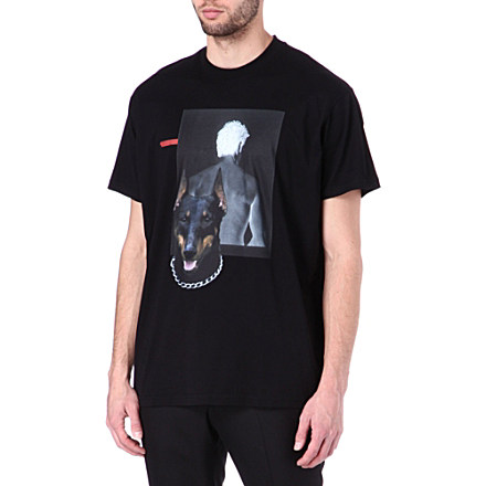 Shadow Doberman t-shirt - GIVENCHY - Printed - T-shirts - Shop Clothing - Men | selfridges.com