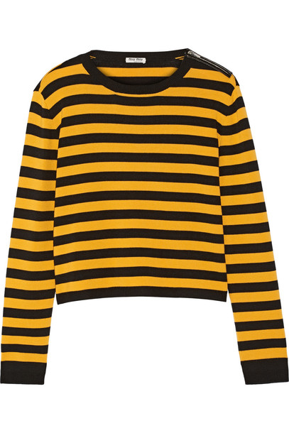 Miu Miu sweater wool black