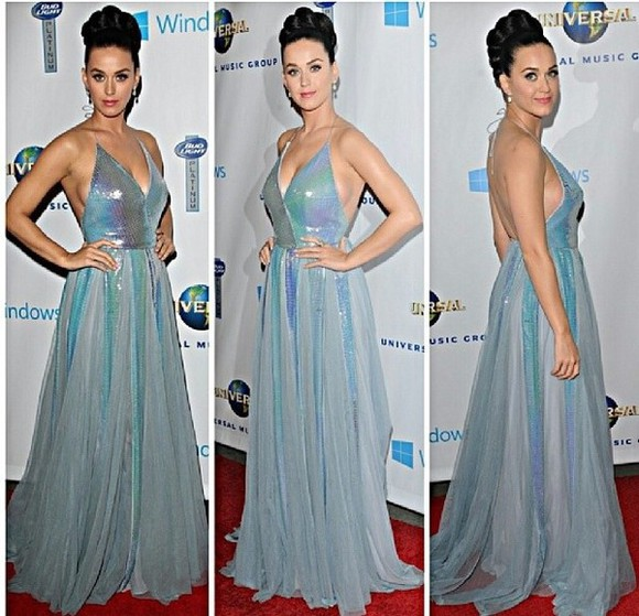 dress katy perry celebrity blue mermaid scales glitter sparkly prom dress maxi dress glitter dress aqua turquoise long prom dresses