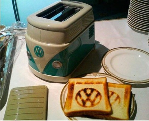 jewels toaster kitchen home decor boho underwear home accessory van blue white quirky