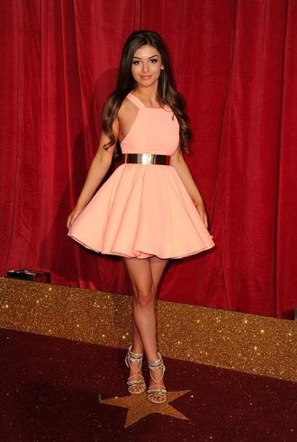 dress soap award pink dress
