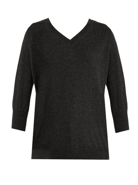 Isabel Marant etoile sweater cotton wool dark grey