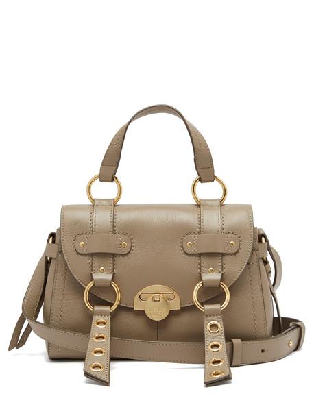 satchel bag satchel bag leather grey