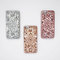 Rose gold silver gold geometric diamond reflective soft cell phone case - iphone 6 6s plus 7 7 plus