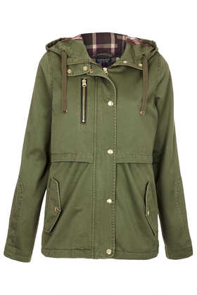 Hooded Lightweight Jacket - New In This Week  - New In  - Topshop