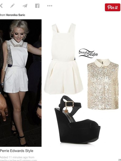 dress perrie edwards perrie edwards blouse shirt shoes