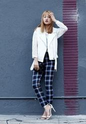 la vagabond dame,jacket,blouse,pants,shoes,bag