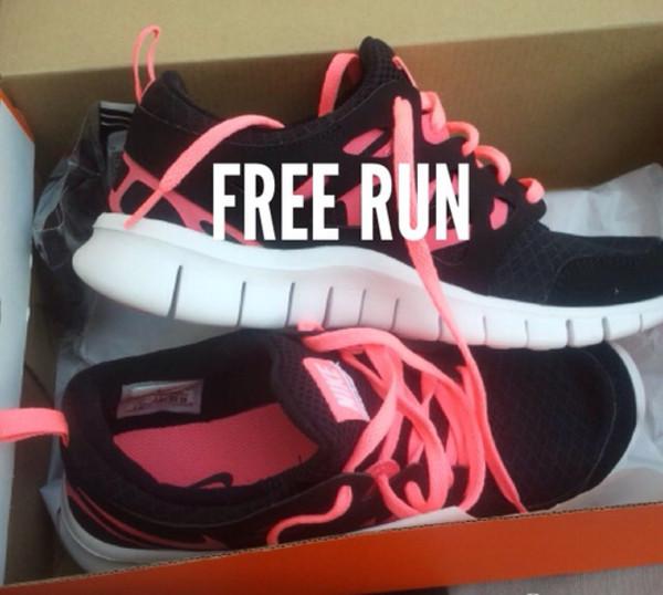 shoes nike pink nike free run air max