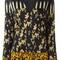 Etro v-neck printed blouse, women's, size: 42, black, viscose