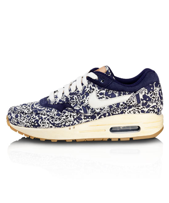 Imperial Purple Liberty Print Air Max 1 Trainers, Nike x Liberty. Shop the latest Liberty Nike Collection at Liberty.co.uk