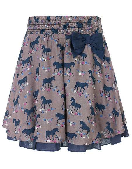 animal print skirt belle horse print skirt