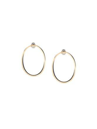 metallic women earrings hoop earrings jewels