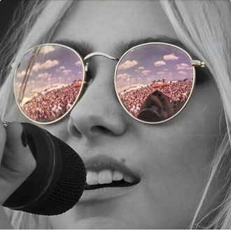 sunglasses taylor momsen mirrored sunglasses
