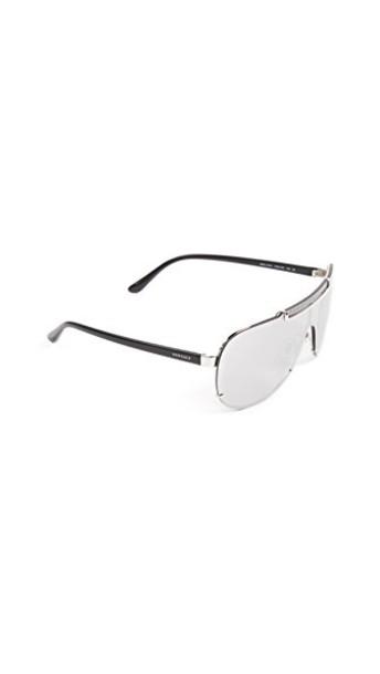 VERSACE sunglasses silver