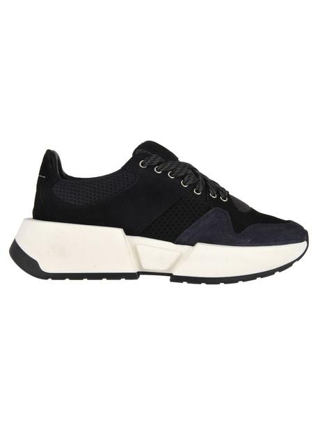 MM6 Maison Margiela Mm6 Sneaker High Sole in black