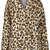 Petite Leopard Print Borg Coat - Petite Jackets - Petite  - Clothing - Topshop USA