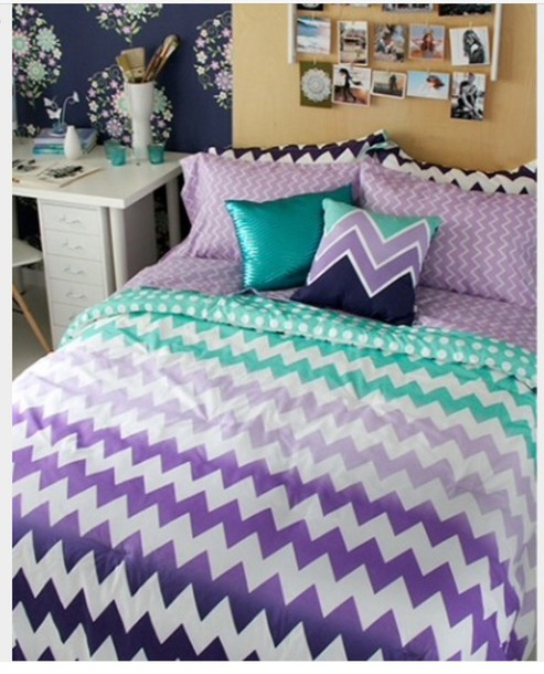 Home Accessory Chevron Bedding Dorm College Decor Back To College College  Room Aeropostale Teenagers Beautiful Unique