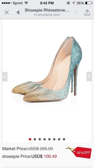 shoes blue silver gold heels louboutin christian louboutin heels fashion week
