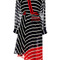 Striped silk georgette flintoff midi dress by preen by thornton bregazzi | moda operandi