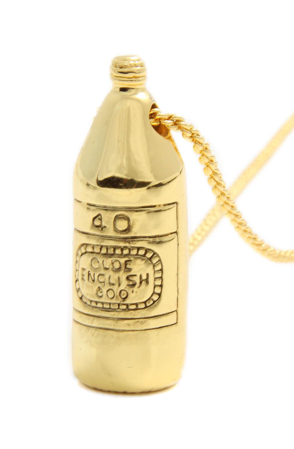 Han Cholo Necklace 40oz Pendant in Gold