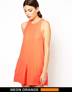 Finders Keepers | Finders Keepers No One Like You Neon Dress at ASOS