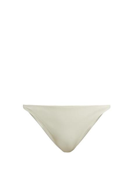 Solid & Striped - X Re/done The Hollywood Bikini Briefs - Womens - Cream