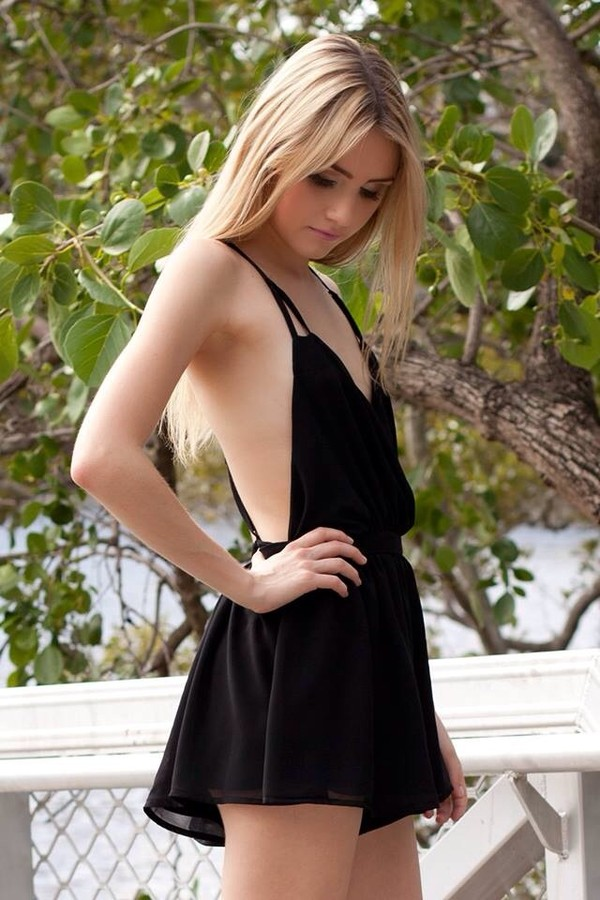 dress black romper romper black playsuit backless backless playsuit cute sexy