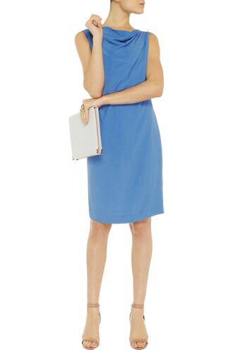 dress azure desire draped crepe dress vivienne westwood