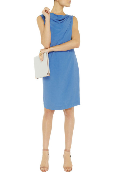 vivienne westwood dress azure desire draped crepe dress