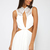 After Party Playsuit - White